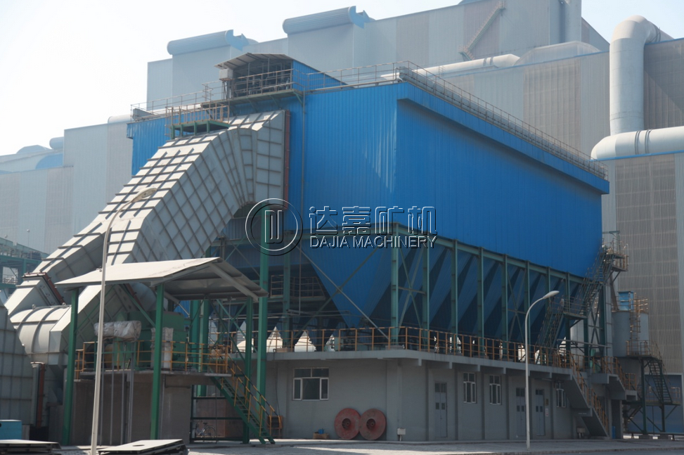 cement bag dust collector