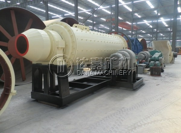 1200x4500 Portable Ball Mill